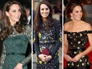 A look back at Duchess Catherine's most fashionable moments from 2017