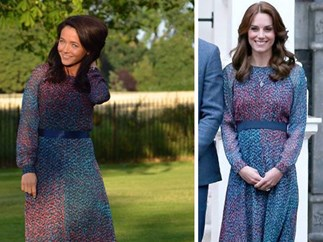 Kate Urbanksa replicates Duchess Catherine