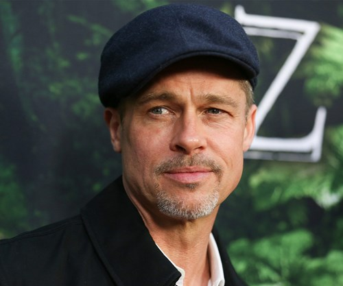 Brad Pitt attends The Lost City of Z premiere