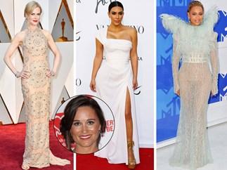 Pippa Middleton, Nicole Kidman, Kim Kardashian, Beyonce