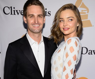 Miranda Kerr's fiance Evan Spiegel needs a Snapchat filter for his outrageous views