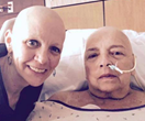 """We are bald AND beautiful"": Cancer-stricken mother and daughter are inspiring women everywhere"