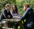 Watch Prince William and Prince Harry speak openly with Duchess Kate about losing their mum