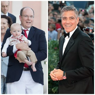 Prince Albert, George Clooney, Prince Jacques