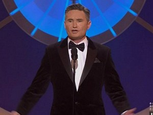 "6 of the most savage moments during Dave ""Hughesy"" Hughes' opening speech at the Logies"