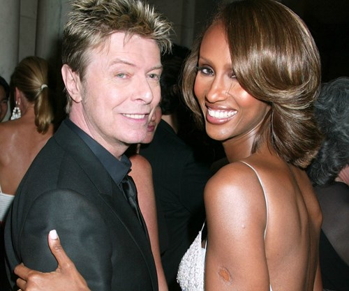 Iman remembers David Bowie on their wedding anniversary