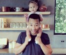 John Legend talking about the first time he held daughter Luna is everything
