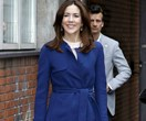 Princess Mary forms a special bond with a young girl at her latest engagement