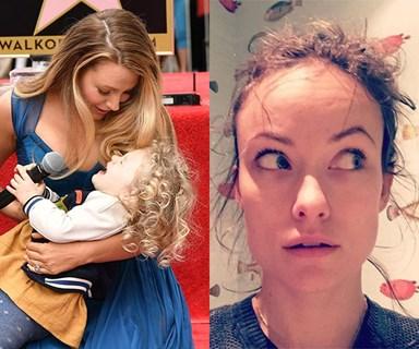 Celebrity mums who tell it like it is about motherhood
