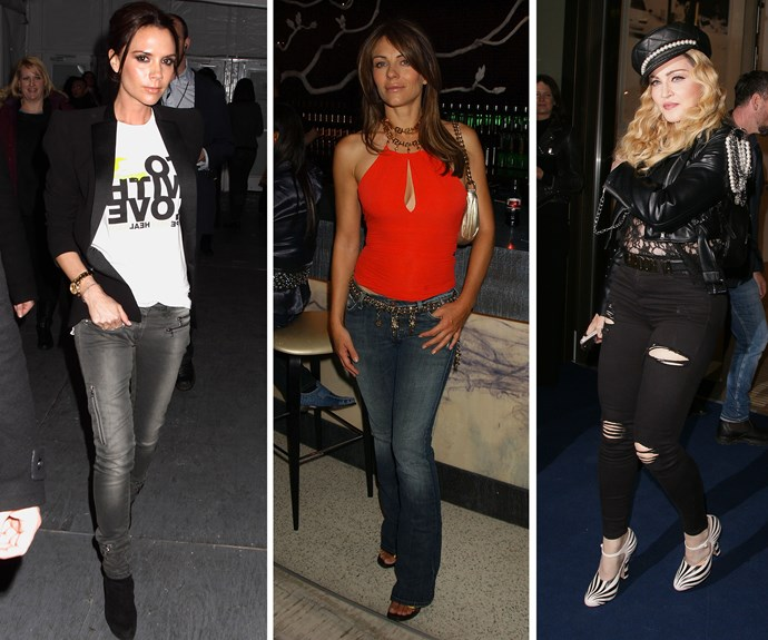 Age to stop wearing jeans