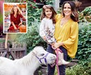 How time has flown: Mary Coustas' little miracle is now 3!