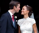 Pippa Middleton's princess moment with 2 wedding dresses