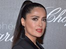 Salma Hayek now has pink hair (looks AMAZING) and everybody is losing it