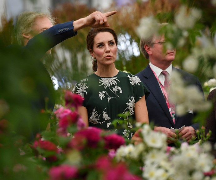 The Duchess of Cambridge, Duchess Kate, Duchess Catherine, Chelsea Flower Show 2017