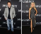 Danielle Spencer supports ex-husband Russell Crowe at The Mummy premiere