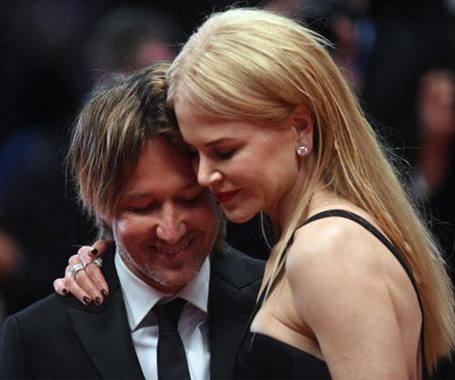 Nicole Kidman and Keith Urban loved up at Cannes