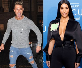 Scotty T and Kim Kardashian West