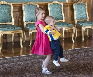 Princess Estelle and Prince Oscar