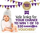 2017 Mother & Baby Awards: Vote for your favourite products in the online categories now!