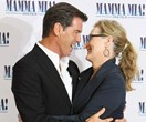 Pierce Brosnan is warming up the pipes for Mamma Mia 2