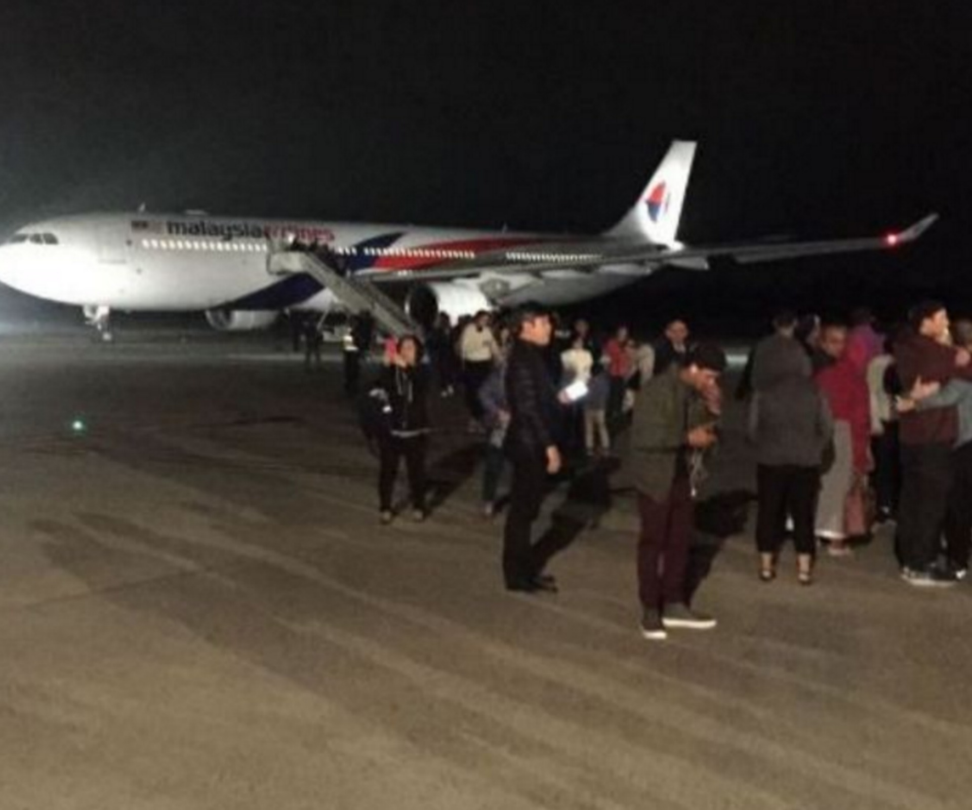 Malaysia Airlines flight forced to land over bomb scare