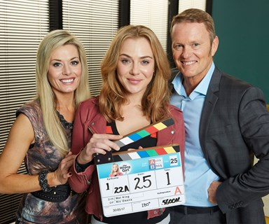 Filming for season two of The Wrong Girl has begun