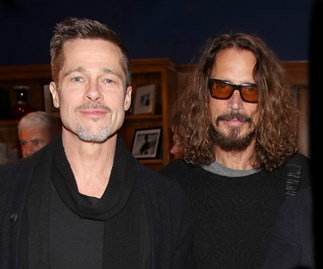 Brad Pitt Chris Cornell