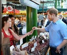 Prince Harry makes surprise visit to Borough Market after terror attack