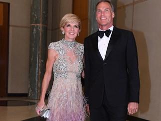 Julie Bishop's Mid-Winter ball dress cost $32,000