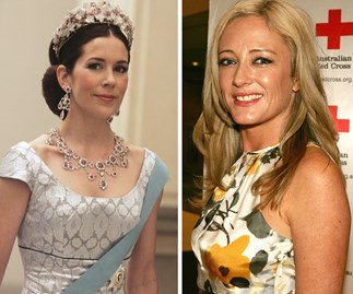 Princess Mary and Amber Petty