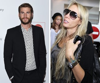 Liam Hemsworth and Tish Cyrus