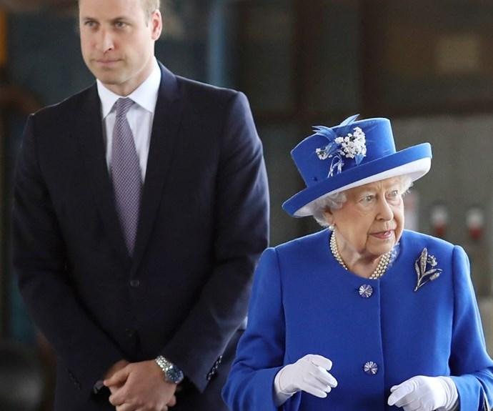 Queen Elizabeth II, Prince William