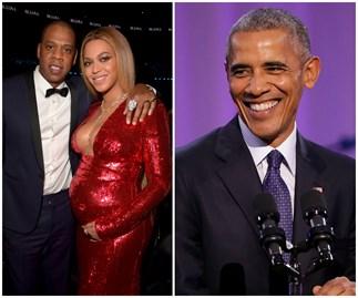 Barack Obama, Beyoncé, Jay Z