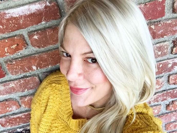 Tori Spelling hair