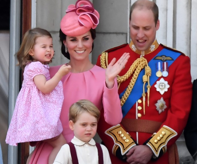 Prince George Princess Charlotte Trooping Colour 2017