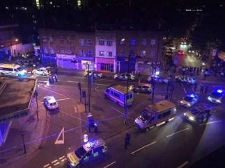 "Latest London tragedy: van ""mows down 10 pedestrians"" near mosque"