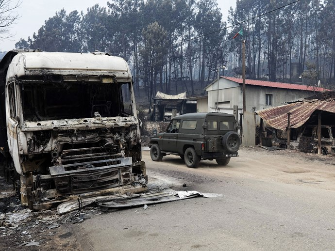 Survivors of the deadly Portugal fire reveal how they escaped