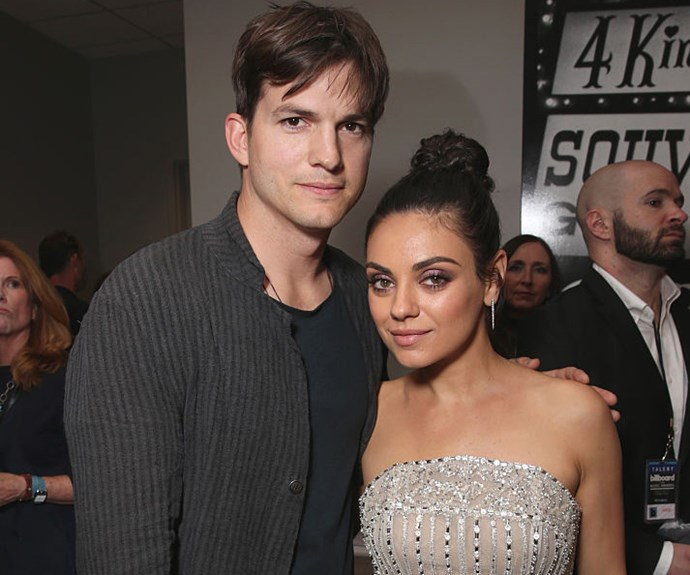 Ashton Kutcher and Mila Kunis are a real life Kelso & Jackie