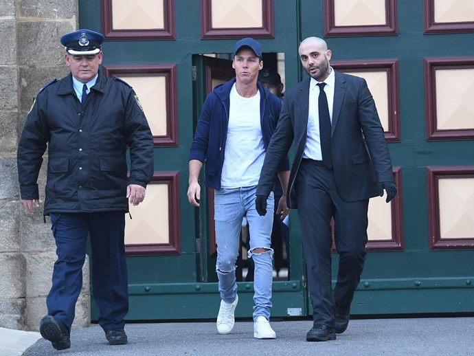 Roxy Jacenko NOT at prison gates to meet husband Oliver Curtis as he's released from jail