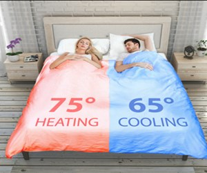 This smart blanket could encourage a better relationship and a better sleep