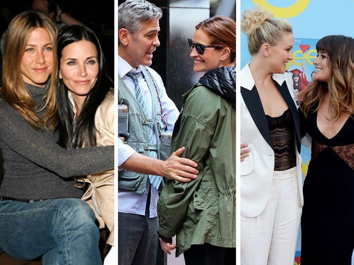 10 celeb co-stars that are best friends in real life