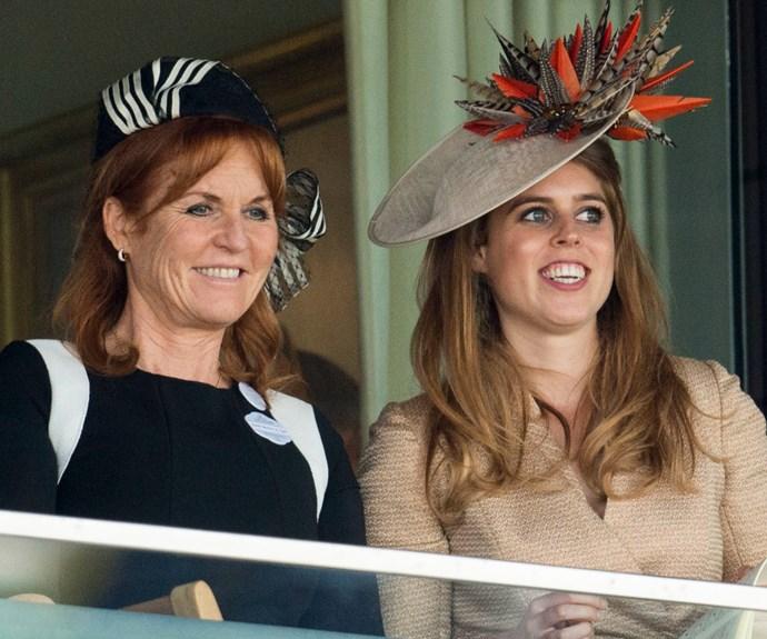 Duchess of York, Sarah Ferguson, Princess Beatrice, Princess Eugenie