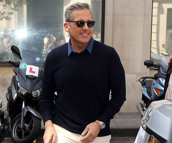 Steve Carell Is Twitter's Latest Heartthrob Thanks To New Silver Fox Look