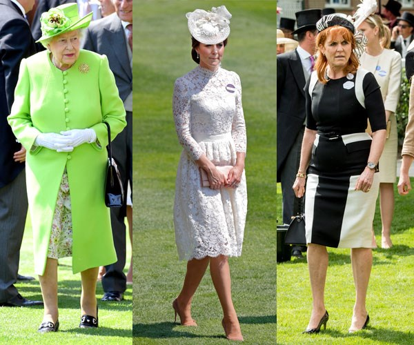 Royal fashion at Ascot 2017