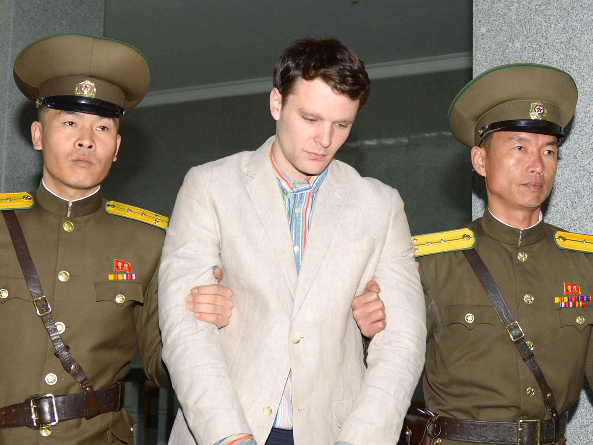 North Korea denies torturing American detainee Otto Warmbier