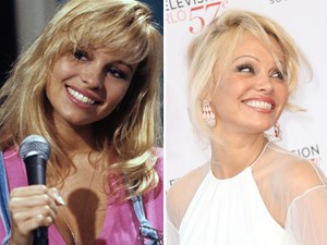 Proof Pamela Anderson has come full circle with her signature look