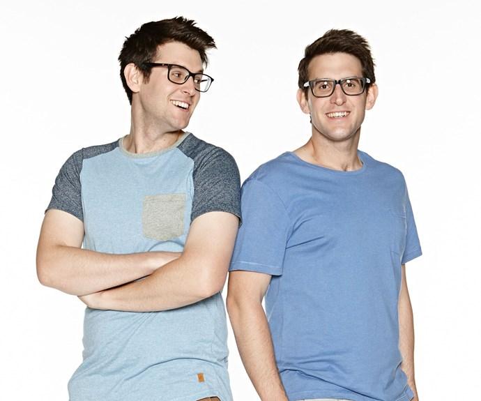 Andrew and Jono