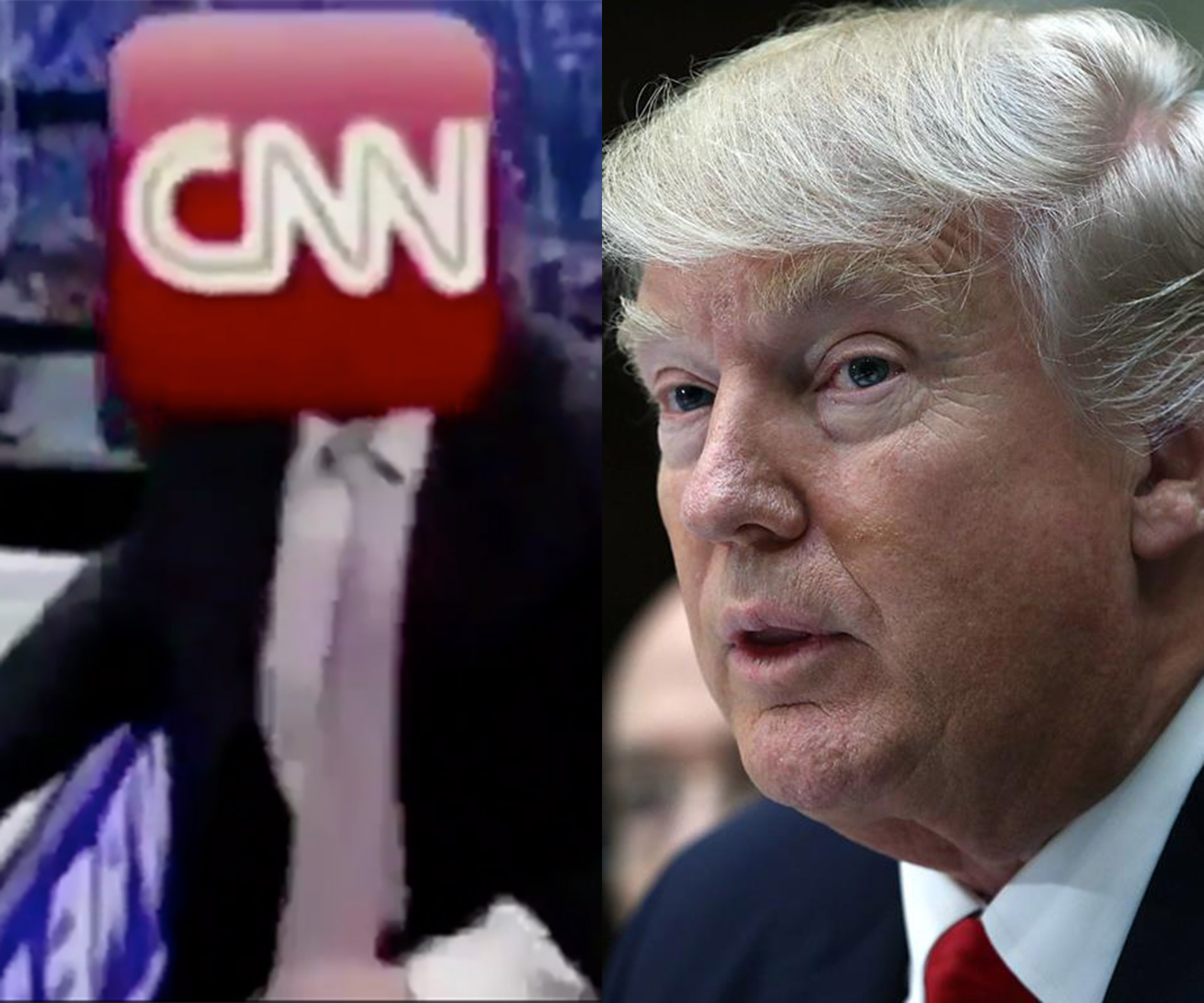 CNN Responds To Trump's Body Slam