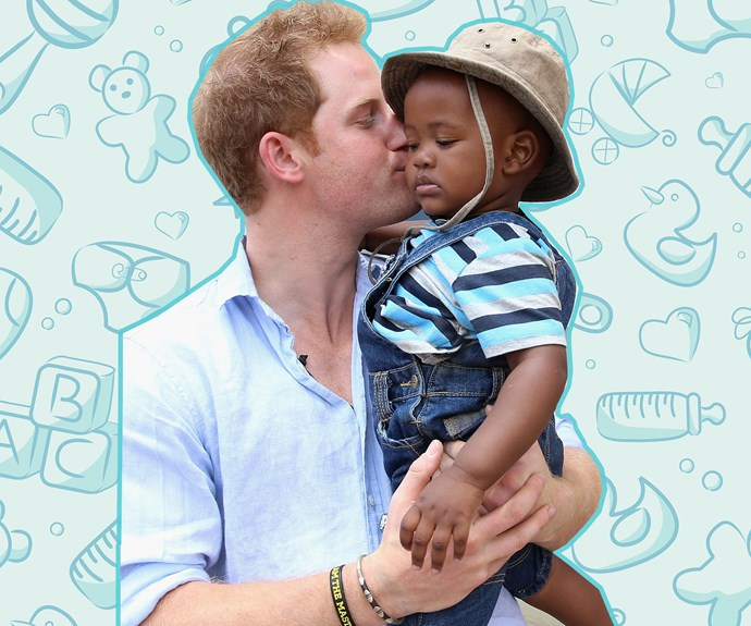 He's a natural-born baby whisperer! Prince Harry's most paternal moments
