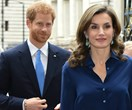 Prince Harry takes part in first ever state visit by welcoming Spanish royals at Westminster Abbey